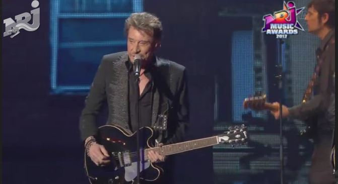 Johnny Hallyday NRJ Music Awards 2012
