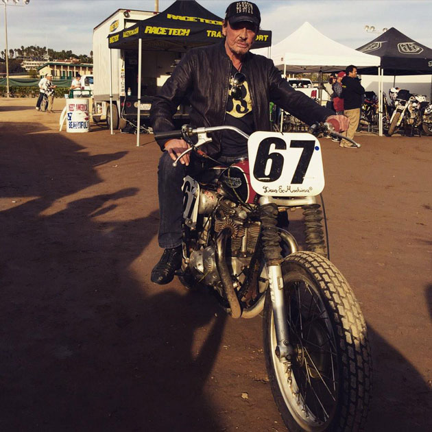 Johnny-Hallyday-en-moto-San-Diego