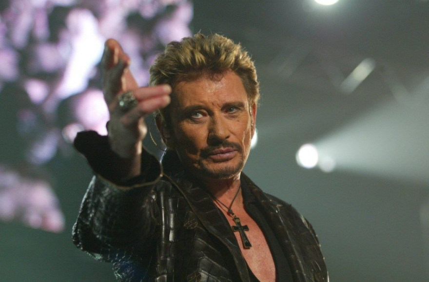 Johnny Hallyday hommage populaire