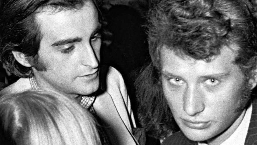Dick Rivers et Johnny Hallyday