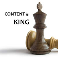 Content marketing is still king with SEO