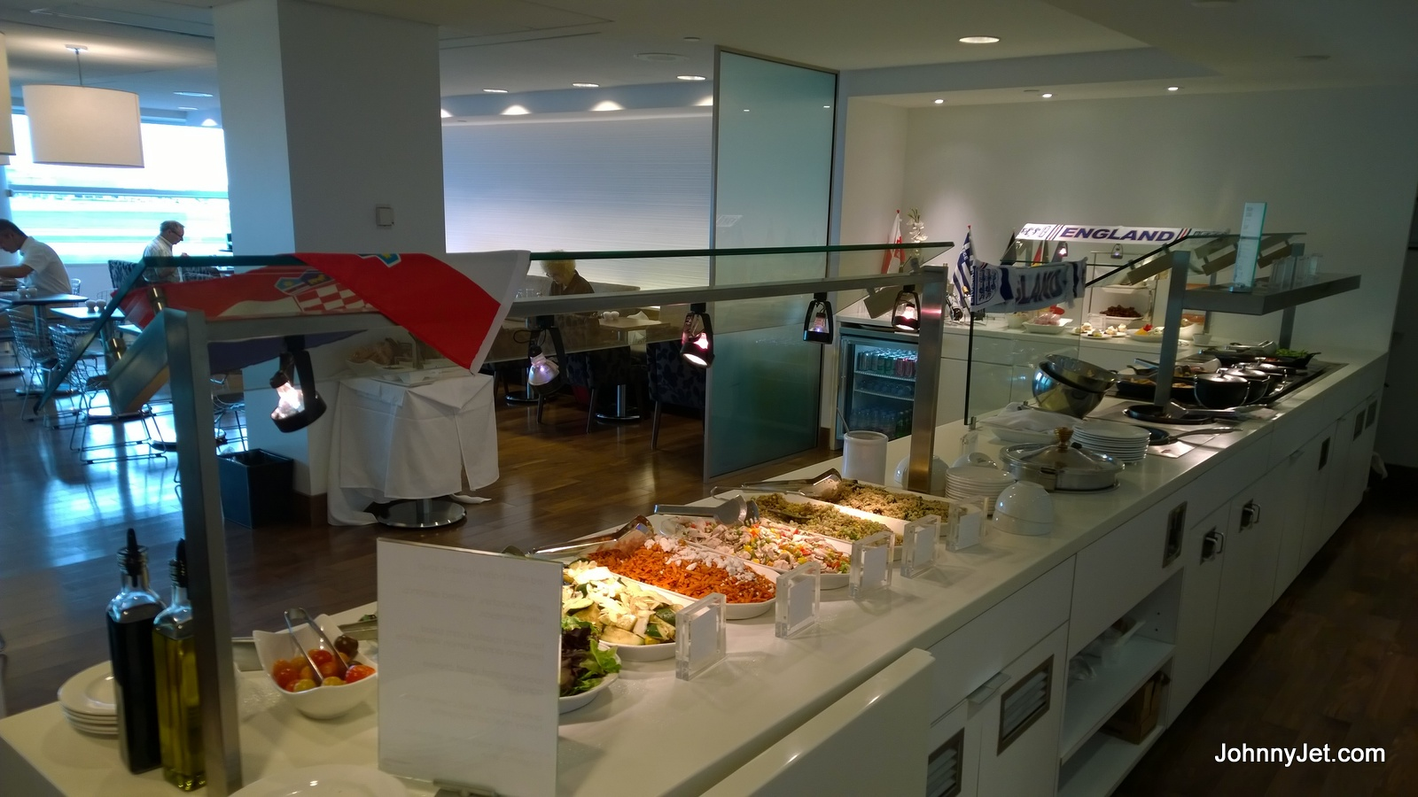 British Airways' Club Lounge at YYZ