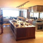 Ka'ana Kitchen juice bar (left), more buffet options (center) and hot grill stations (right)