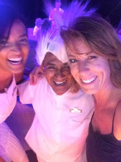Jill with staff at Jade for the 40th anniversary party