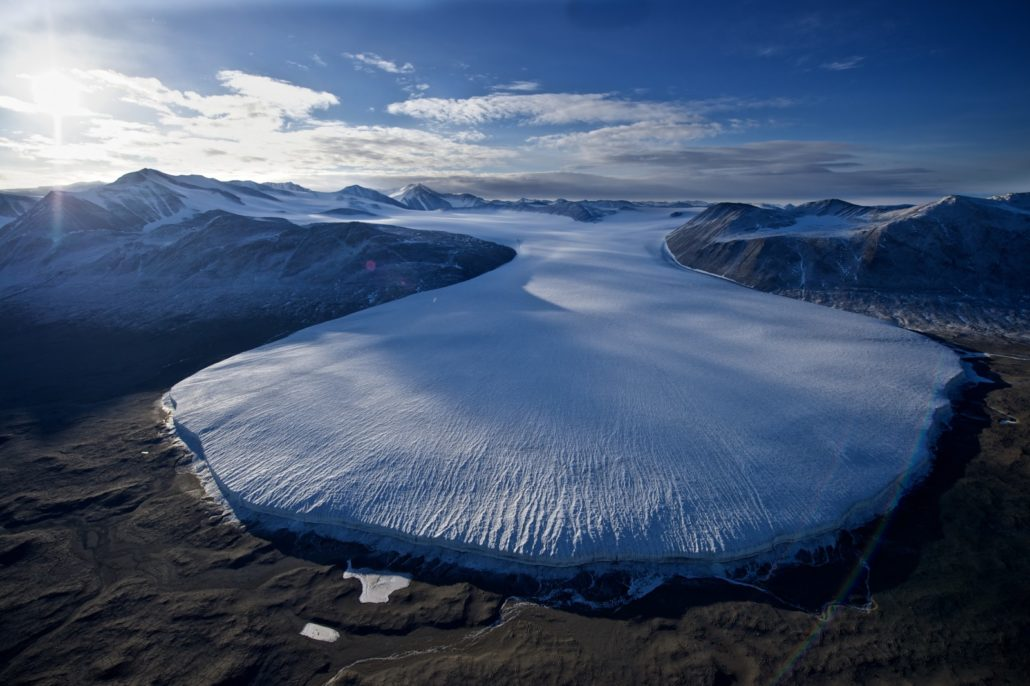The Dry Valleys: on Ross Sea itineraries (Credit: Michael Martin and Oceanwide Expeditions)