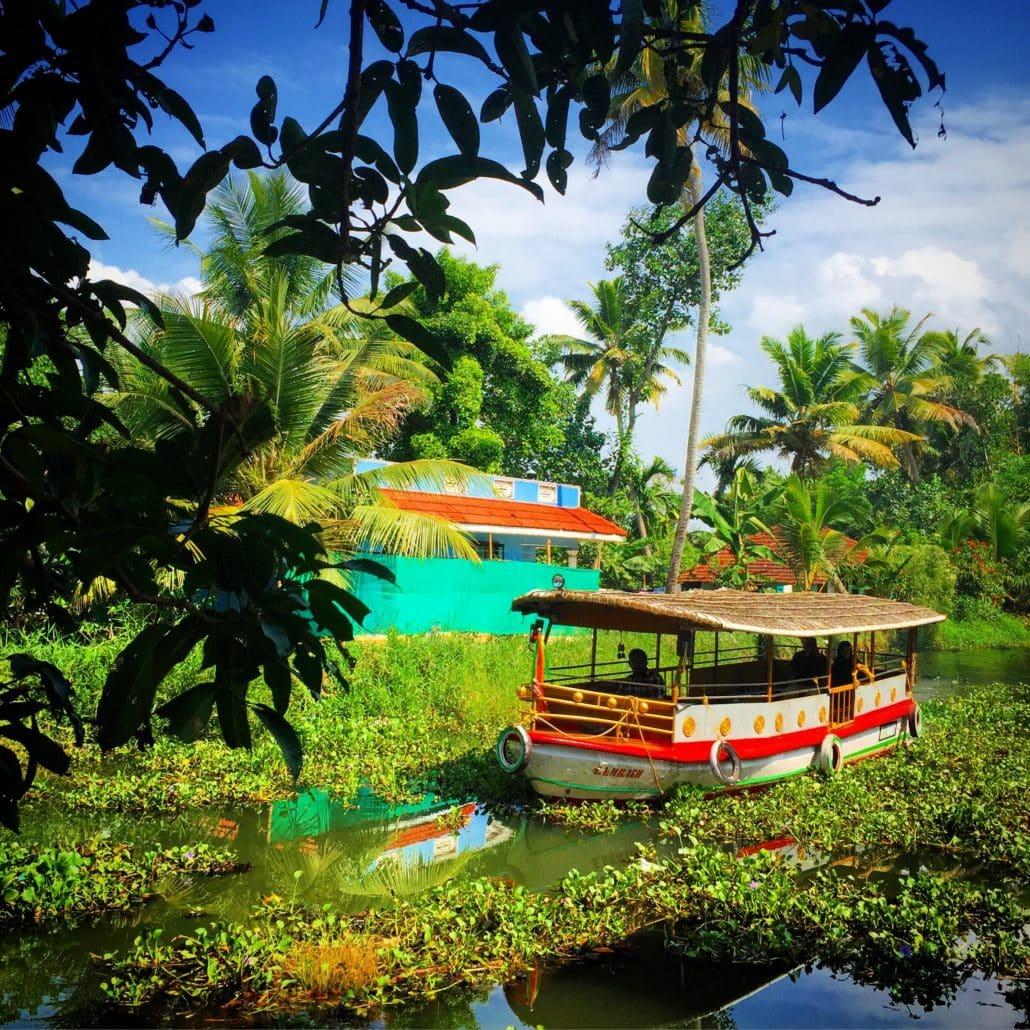 Stunning Kerala backwaters