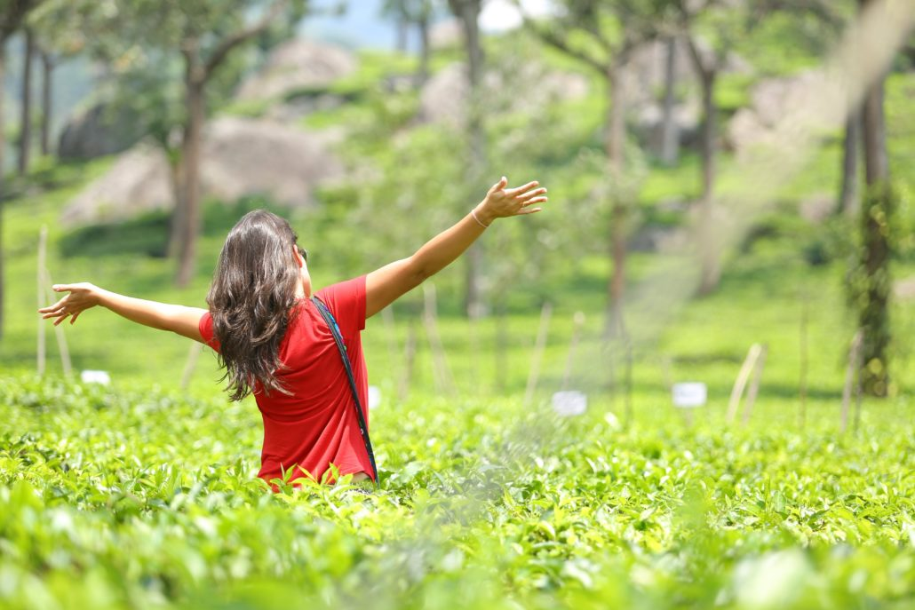 Me in the tea plantations in Munnar