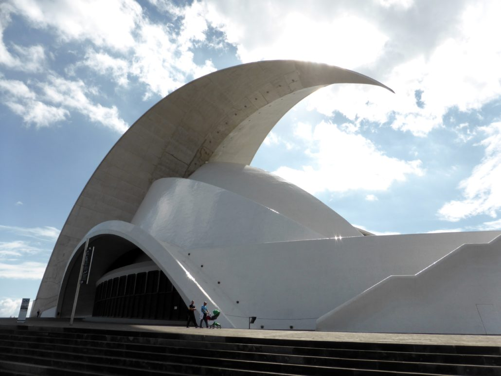 Some say the Auditorio de Tenerife resembles the Sydney Opera House