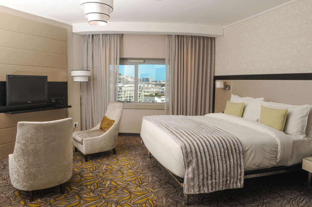 Standard room at the Southern Sun Waterfront Hotel in Cape Town