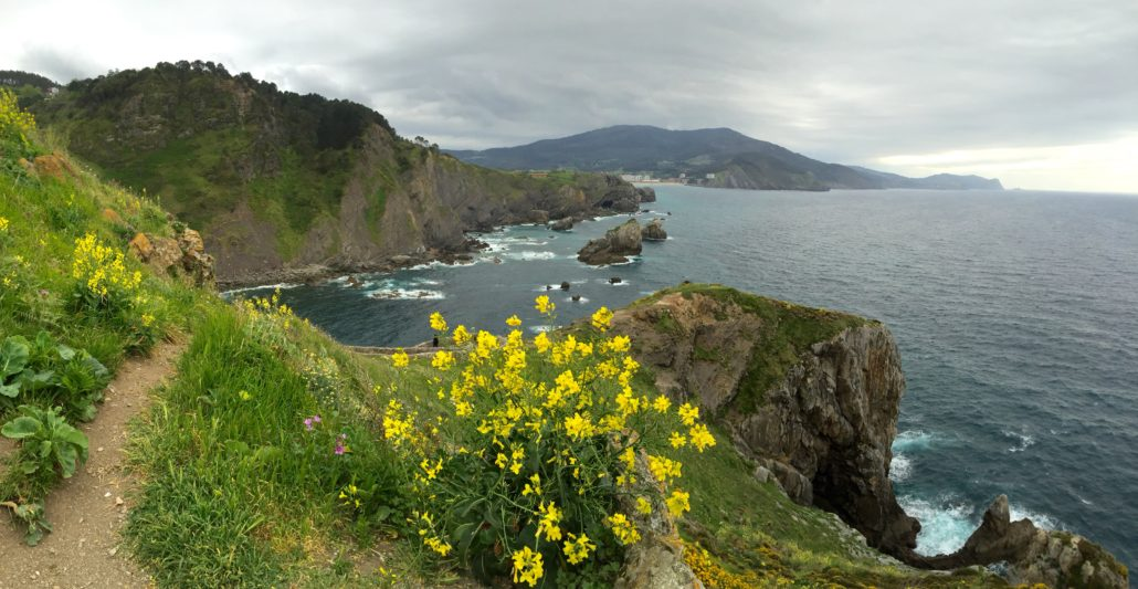 The Basque coast, from San Juan de Gaztelugatxe