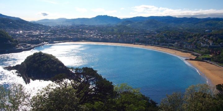San Sebastián, Spain: crown of the Basque Country