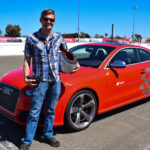 The author and an RS5