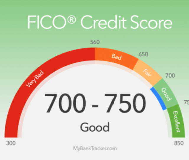 A Fico Credit Score Above 700 Is Considered Good But Scores In The 600s Still