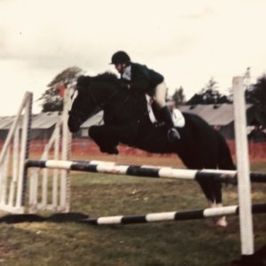 Cob show jumping