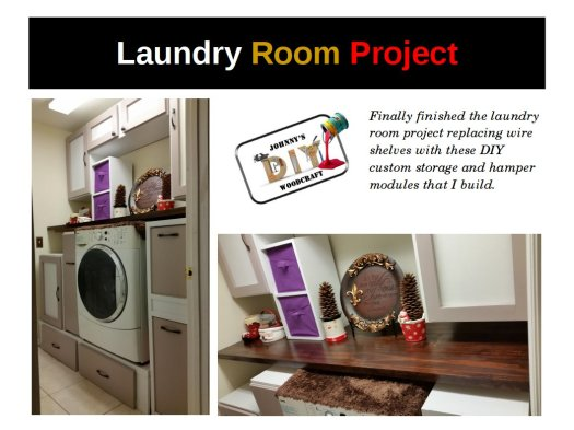Laundry room project completion 12142016