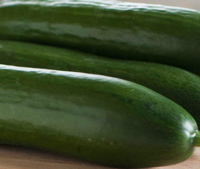 Seedless And Thin Skinned Cucumbers