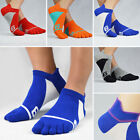 Men Ankle Socks Summer Low Cut Casual Sport Cotton Five Fingers Toe Socks NEW SF