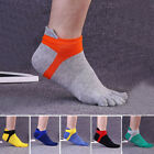 1 Pair Mens Breathable Low Cut Toe Socks No Show Athletic Five Finger Socks tall