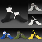 Men's Combed Cotton Blend Five Finger Toe Socks Sports Ankle No Show Low Cut Hot