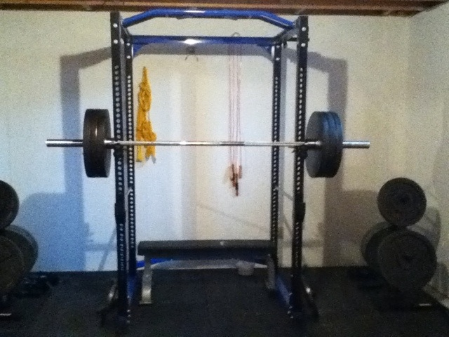315lbs on band pegs