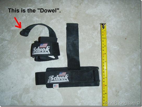 Schiek Dowel Lifting Straps