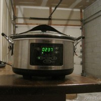 Cooking Tip: Put The Slow Cooker In The Garage
