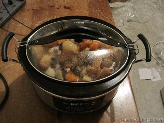 Crock Pot In The Garage