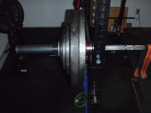 307.5 lb Reverse Grip Bench Press