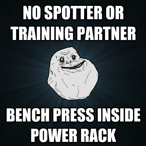 Bench Press Forever Alone