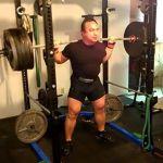 520 high bar squat
