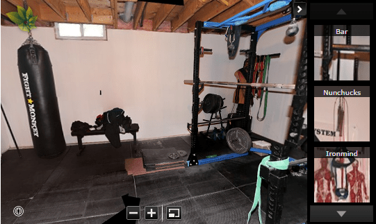 Home Gym + Home Office Combo