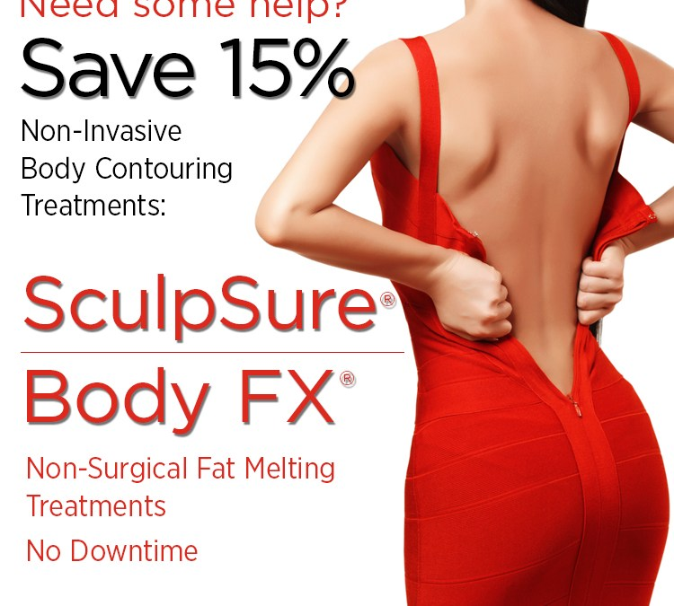 Save 15% on SculpSure and BodyFX