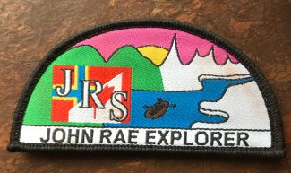 John Rae Explorer badges