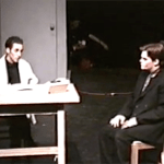 scene from the play Angels in America