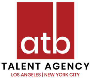 ATB Talent Agency LA and NY Logo