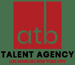ATB Talent Agency LA and NY Logo