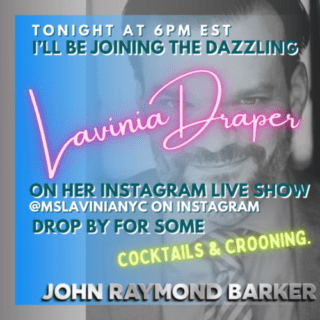 promo for online music show with Lavinia Draper