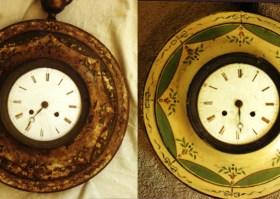 French Toleware Clocks