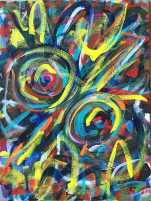 """No. 2369. From the artist's Going Home Series: """"Shimmering Angels 1"""" (View C) Available $2,250."""