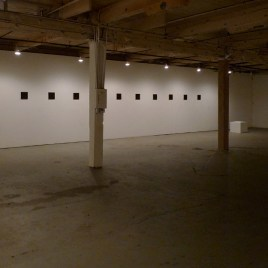 john ros installation, concentricity. (with two coats of extra heavy gel: gloss), 2012