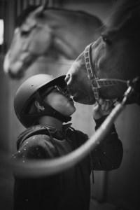 kelar med hästen
