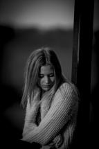 porträttfotografering på Gallberget i Halmstad med Amanda