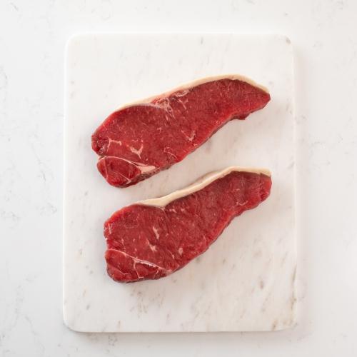Scotch beef sirloin steak Saunderson's Edinburgh butcher
