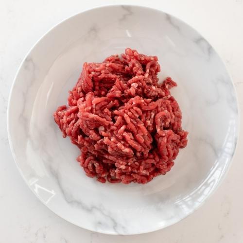 Scotch beef steak mince Saunderson's Edinburgh butcher