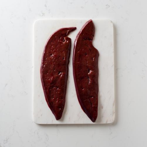 Scotch beef liver Saunderson's Edinburgh butcher