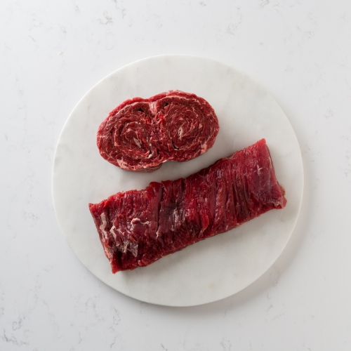 Scotch beef skirt steak Saunderson's Edinburgh butcher