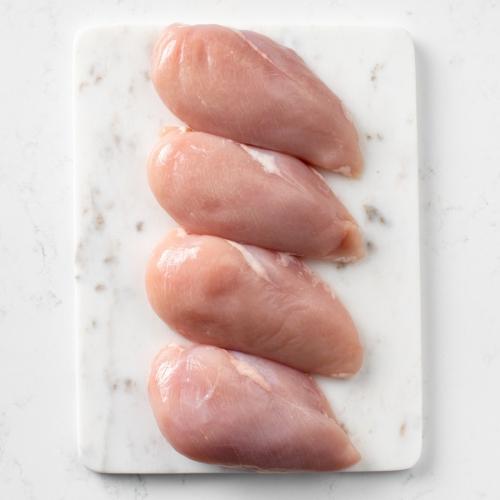 Locally sourced chicken fillets Saunderson's Edinburgh butcher