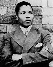 Mandela when I was born
