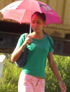 A sweet young Guyanese woman
