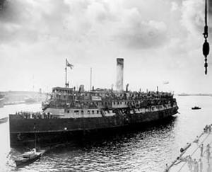Exodus Ship 1947 Israel Virtual Library